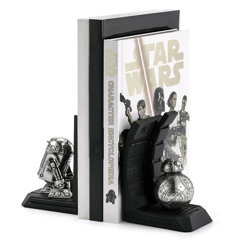R2-D2 Pewter Bookend by Royal Selangor – Star Wars