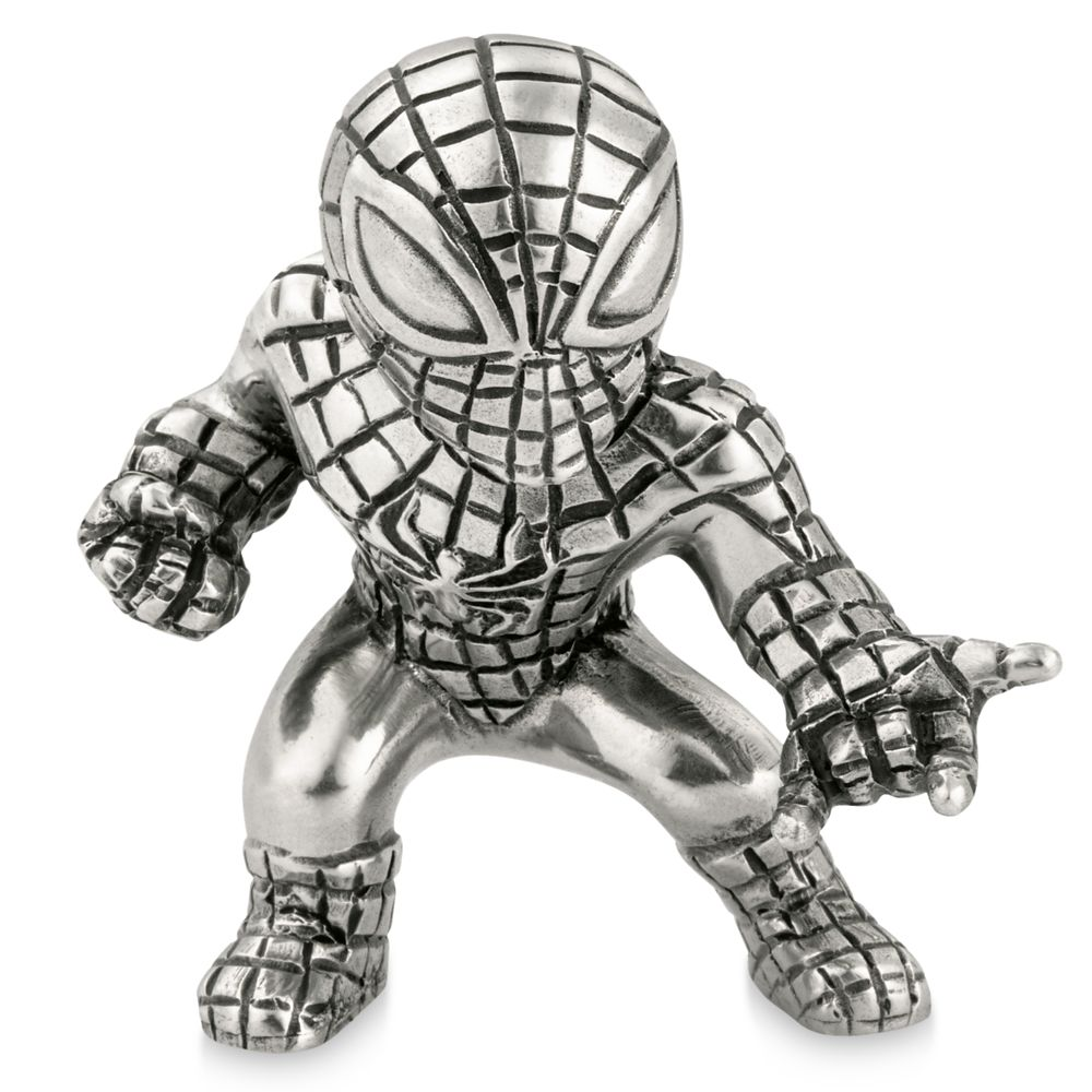 Disney Spider-Man Pewter Mini Figurine by Royal Selangor