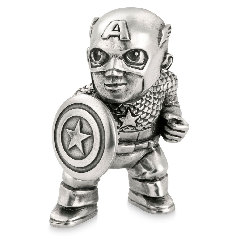 Captain America Pewter Mini Figurine by Royal Selangor