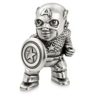 Disney Captain America Pewter Mini Figurine by Royal Selangor