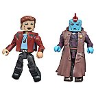Guardians of the Galaxy Vol. 2 Minimates Set - Star-Lord and Yondu