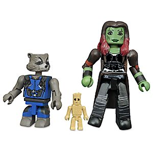 Guardians of the Galaxy Vol. 2 Minimates Set - Gamora and Rocket with Groot 699788823002P