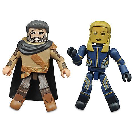 Guardians of the Galaxy Vol. 2 Minimates Set - Ego and Ayesha