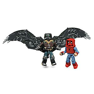 Spider-Man: Homecoming Minimates Set - Homemade Suit Spider-Man and Vulture 699788823170P