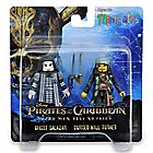 Pirates of the Caribbean: Minimates Set - Ghost Salazar and Cursed Will Turner