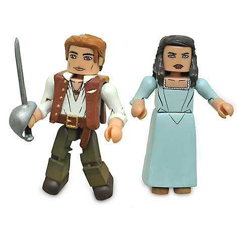 Pirates of the Caribbean: Dead Men Tell No Tales Minimates Set - Henry and Carina