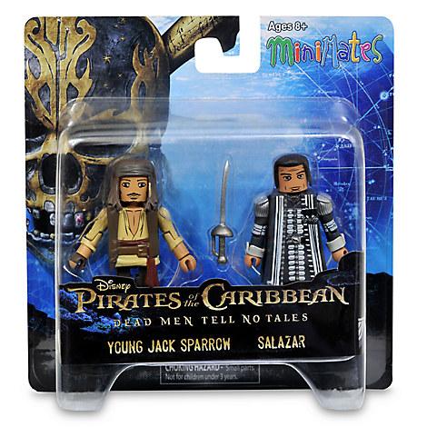 Pirates of the Caribbean: Dead Men Tell No Tales Minimates Set - Jack Sparrow and Salazar