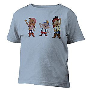 Jake and the Never Land Pirates Tee for Kids - Customizable