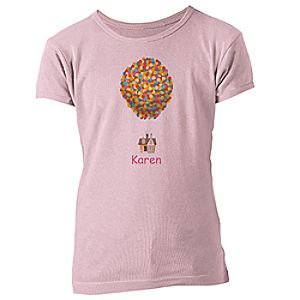 Up Tee for Girls - Customizable
