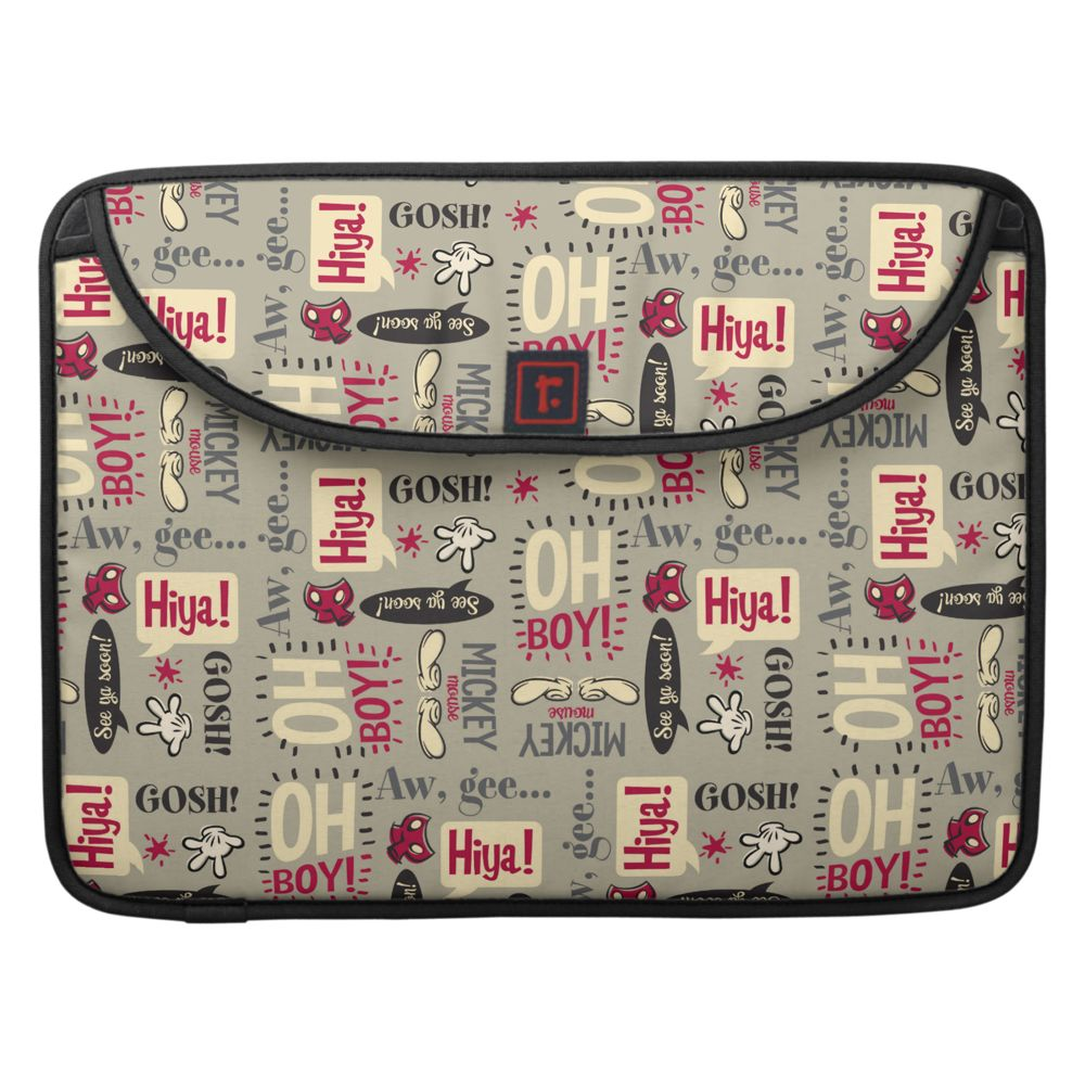 Mickey Mouse Shorts Laptop Computer Sleeve – 15'' – Customizable