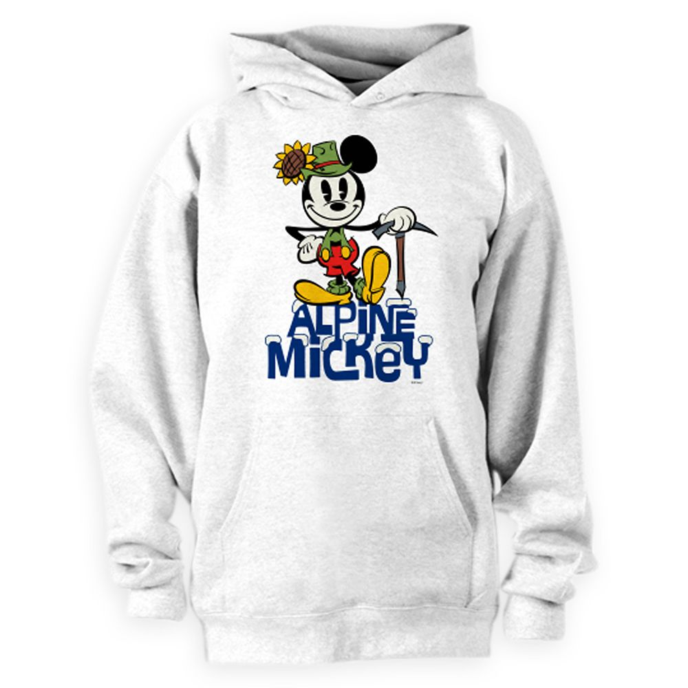Mickey Mouse Yodelberg Hoodie Pullover for Adults – Customizable
