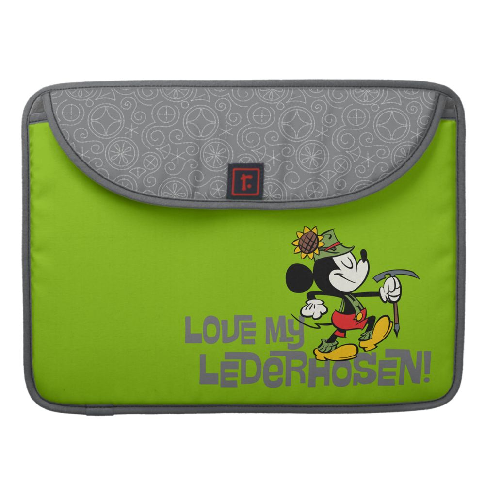 Mickey Mouse Yodelberg Laptop Computer Sleeve  Customizable Official shopDisney