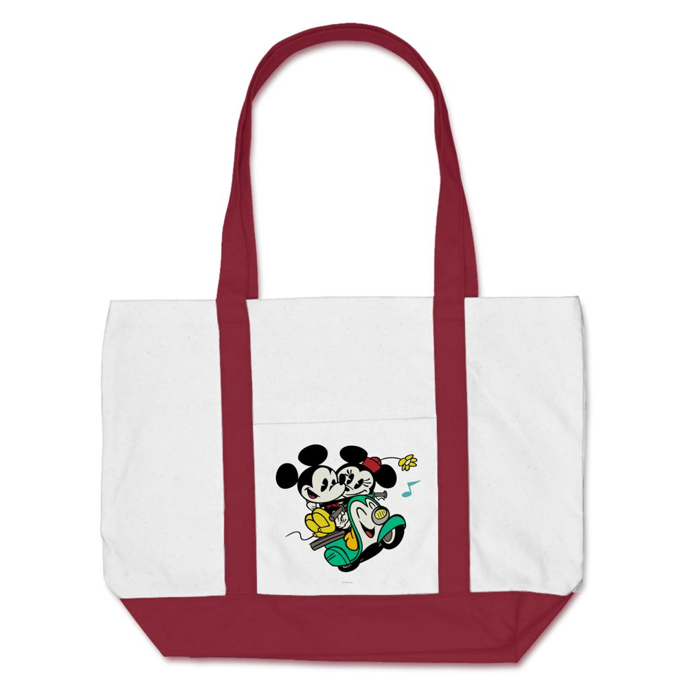 Mickey Mouse Croissant de Triomphe Tote Bag  Customizable Official shopDisney