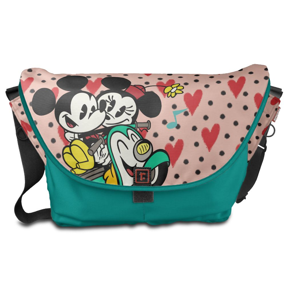 Mickey Mouse Croissant de Triomphe Messenger Bag  Customizable Official shopDisney