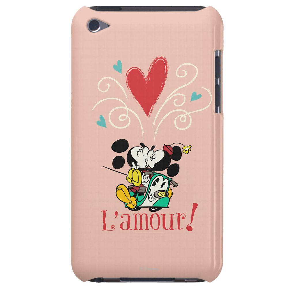 Mickey Mouse Croissant de Triomphe iPod Case – Customizable