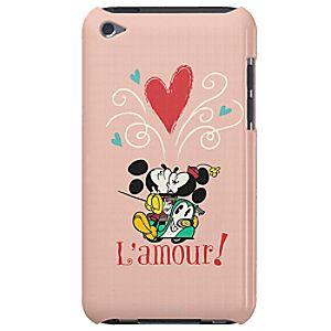 Disney Store Mickey Mouse Croissant De Triomphe Ipod Case  -