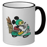 Mickey Mouse Croissant de Triomphe Ringer Mug – Customizable