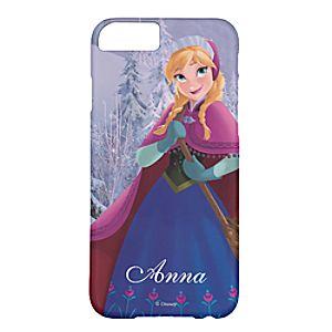 Disney Store Anna Iphone 6 Case  -  Frozen  -  Customizable