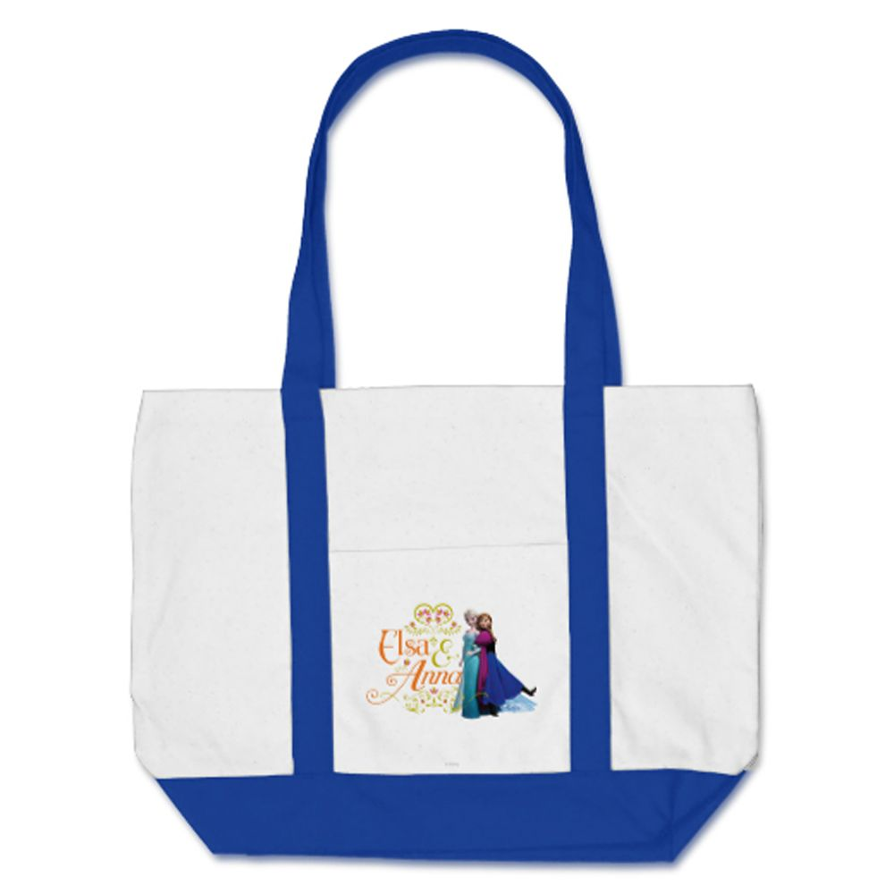 Anna and Elsa Tote  Frozen  Customizable Official shopDisney