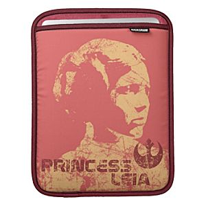 Princess Leia Vintage iPad Sleeve – Customizable