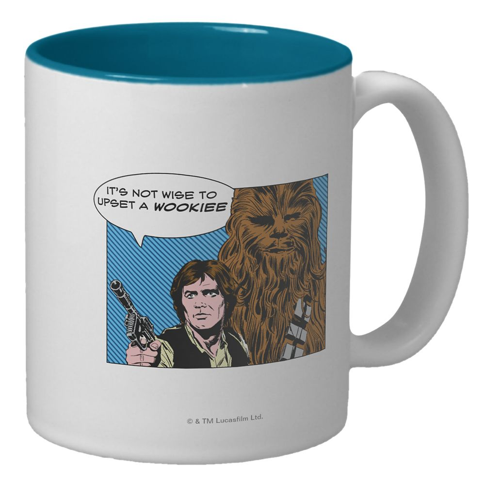 Han Solo & Chewbacca Mug – Customizable