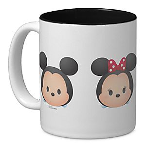 ''Tsum Tsum'' Mickey and Minnie Mouse Mug - Customizable