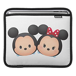 ''Tsum Tsum'' Mickey and Minnie Mouse iPad Sleeve - Customizable