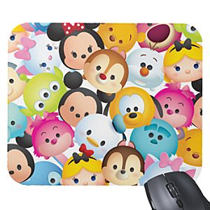 ''Tsum Tsum'' Pattern Mousepad - Customizable