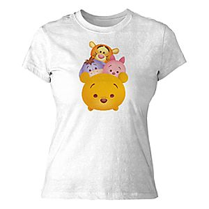 ''Tsum Tsum'' Winnie the Pooh and Pals Tee for Women - Customizable