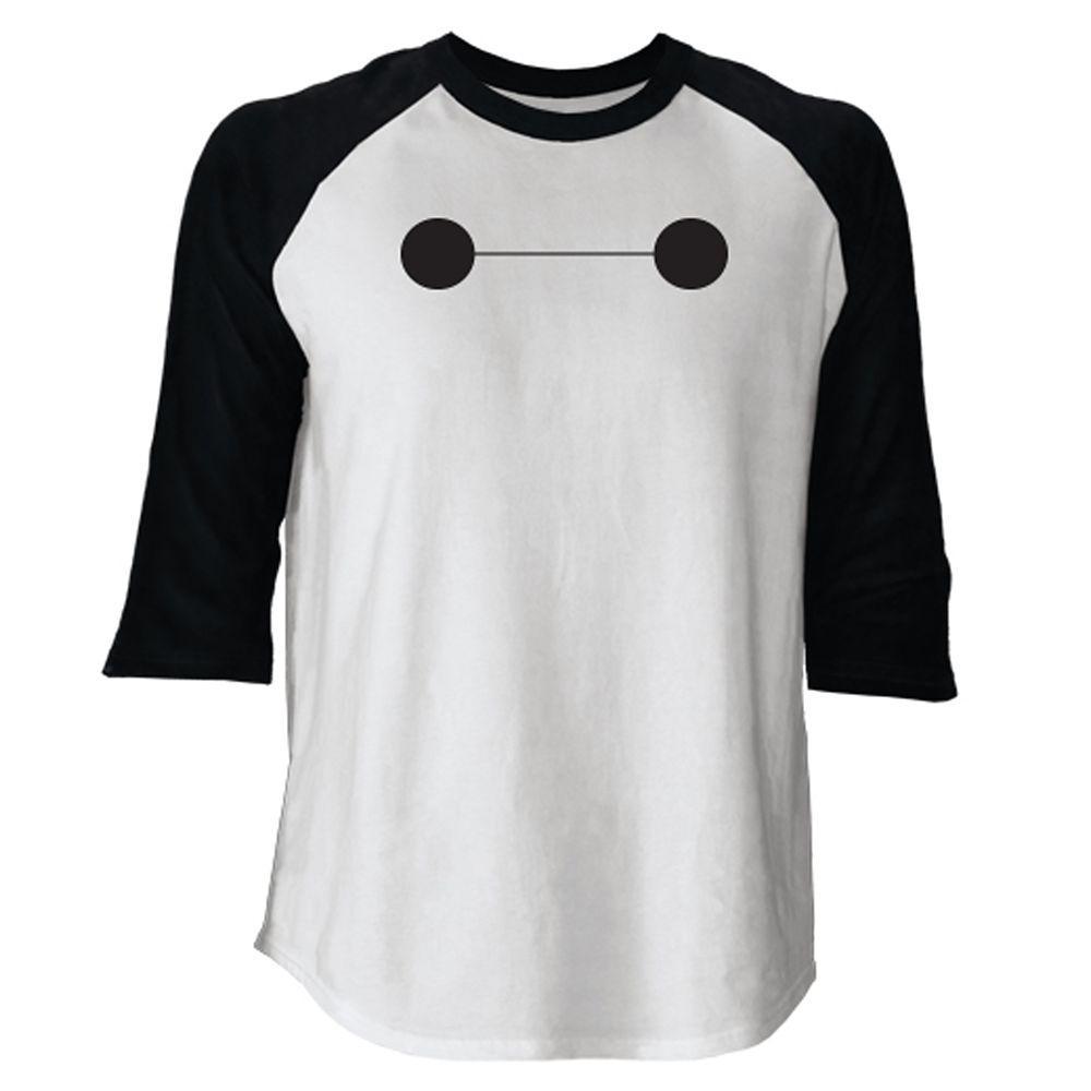 Big Hero 6 Baymax Raglan Long Sleeve Tee for Men  Customizable Official shopDisney