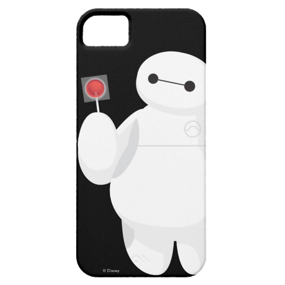 Big Hero 6 Baymax with Logo iPhone 5/5S Case – Customizable