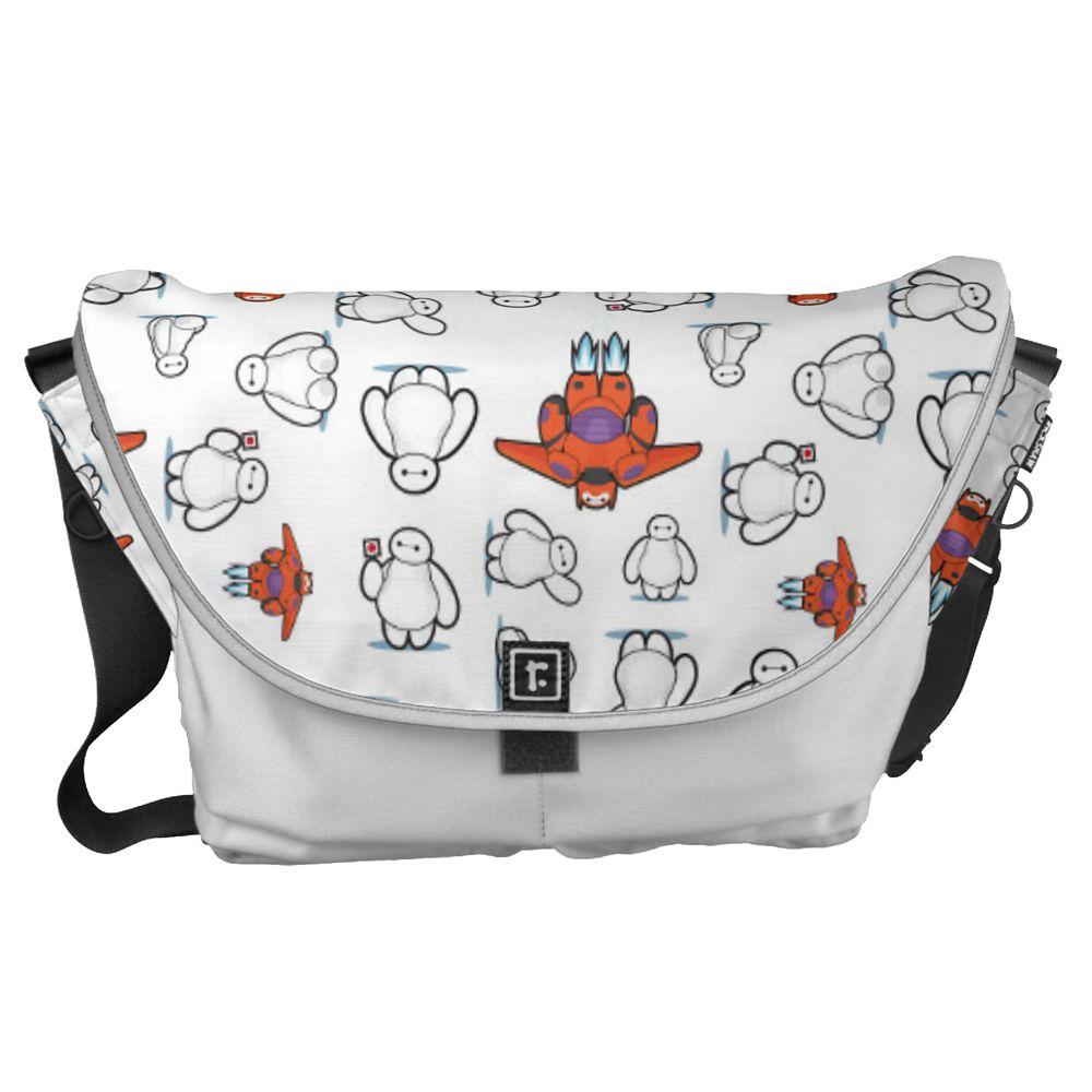 Big Hero 6 Baymax Pattern Messenger Bag – Customizable
