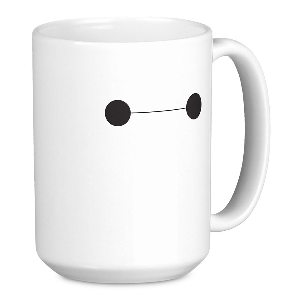 Big Hero 6 Baymax Eyes Mug – Customizable