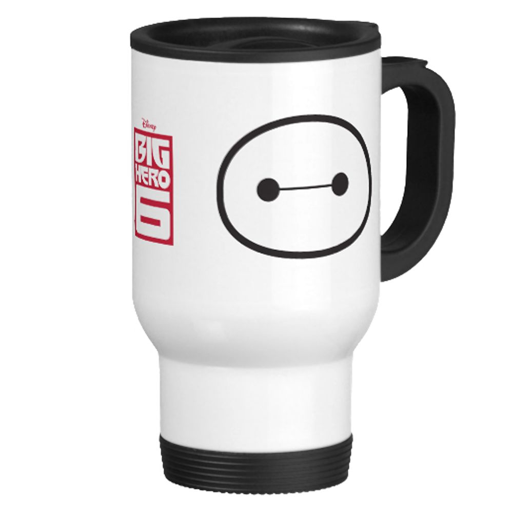 Big Hero 6 Baymax Travel Mug – Customizable