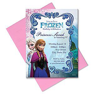 Frozen Invitation – Customizable