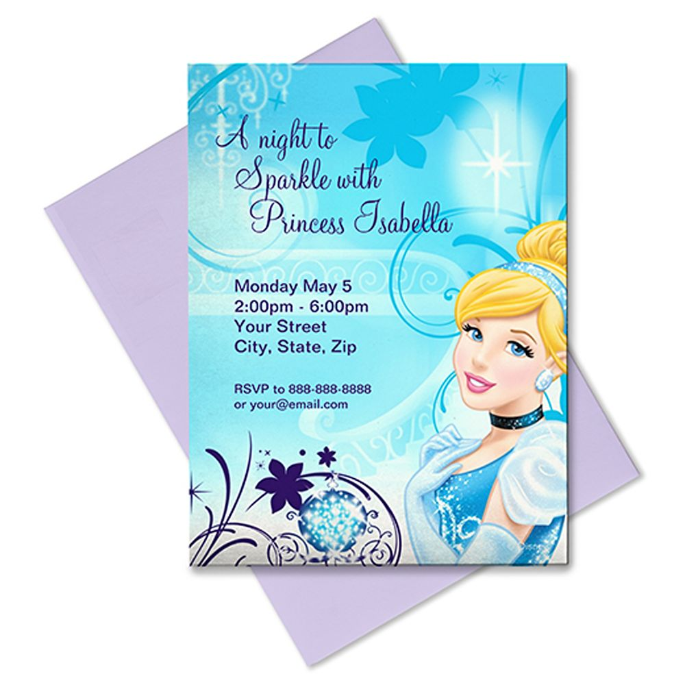 Cinderella Invitation – Customizable