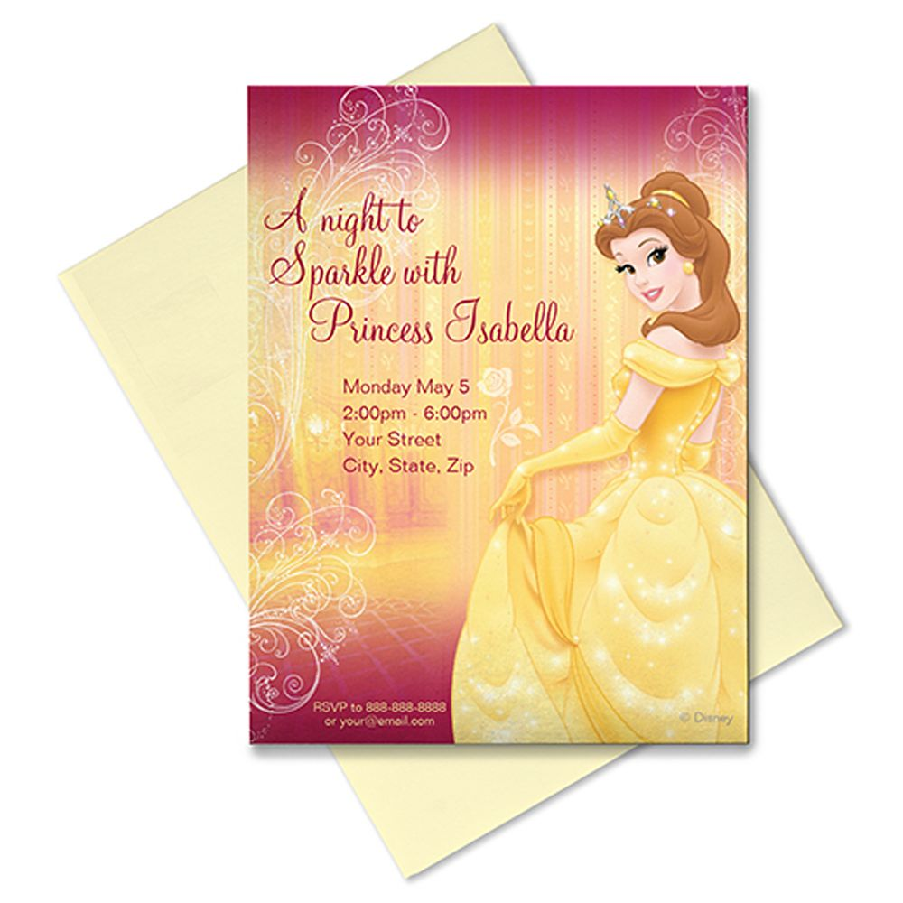 Belle Invitation – Customizable