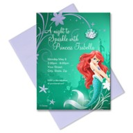 Ariel Invitation – Customizable