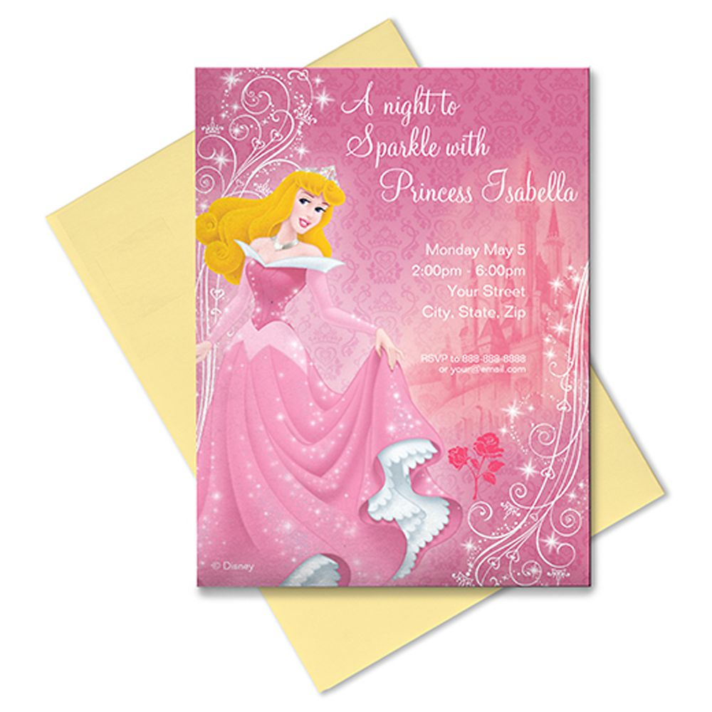Aurora Invitation – Customizable