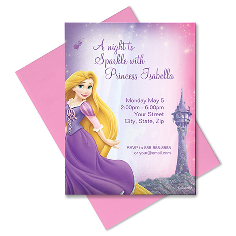 Rapunzel Invitation – Customizable