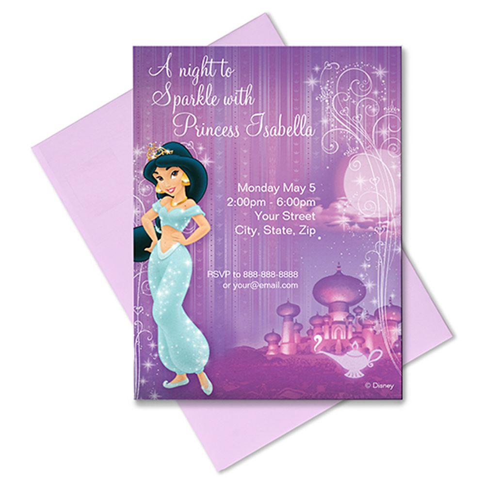 Jasmine Invitation – Customizable