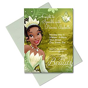 Tiana Invitation - Customizable