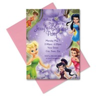 Disney Fairies Invitation – Customizable