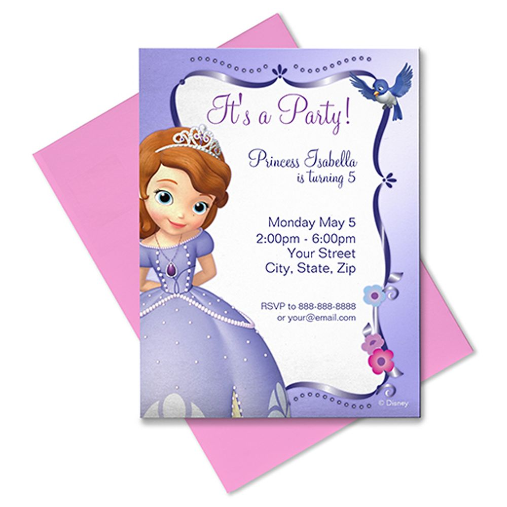 Sofia Invitation – Customizable