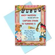 Jake and the Never Land Pirates Invitation – Customizable
