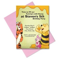 Winnie the Pooh and Pals Invitation – Customizable