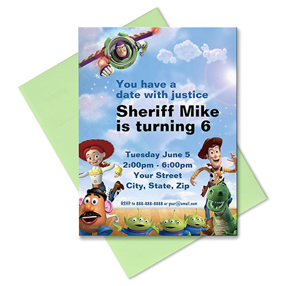 Toy Story Invitation – Customizable