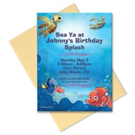 Finding Nemo Invitation – Customizable