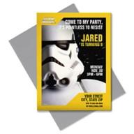 Star Wars Stormtrooper Invitation – Customizable