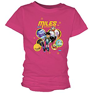 Miles from Tomorrowland Superstellar Tee for Girls – Customizable